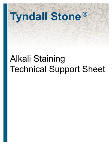 Alkali Staining Cover
